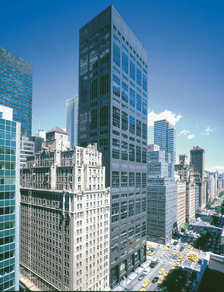 450 Park Avenue Aerial view
