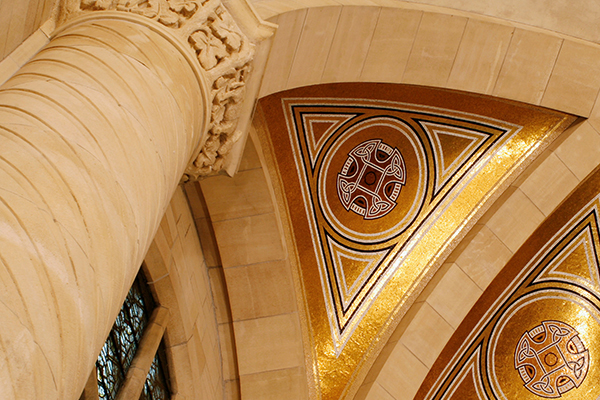 Architectural Ceiling Detail Photo